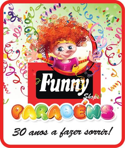 30 anos funny shops