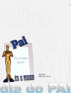 Moldura para o Dia do Pai com Óscar