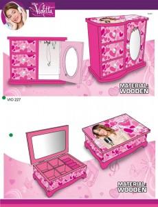 caixas de joias artigos Violetta