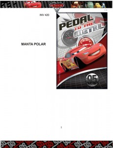 Manta polar cars Disney