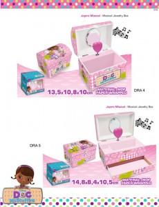 caixas de joias Doutora Brinquedos