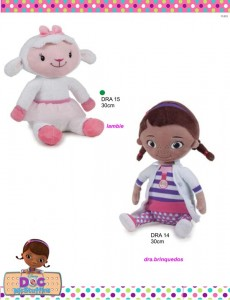 peluches Doutora Brinquedos
