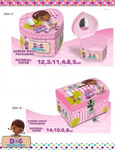 Caixas Doutora Brinquedos