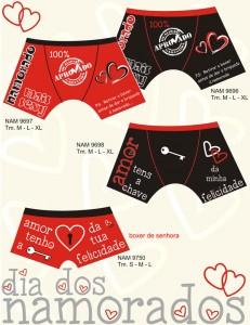 Boxers presentes DIa dos Namorados