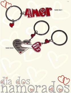 Porta-chaves para o dia dos namorados