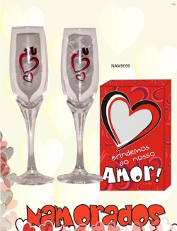 copos de champanhe dia dos namorados