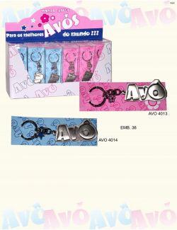 porta-chaves para os avos