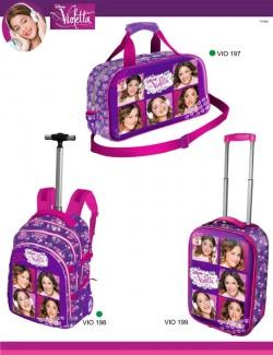 malas de viagem da Violetta