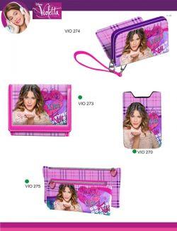carteiras da Violetta