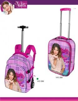 mochilas com rodas da Violetta