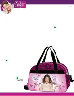 saco de ginastica rosa da Violetta