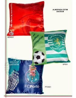 Almofadas dos clubes de futebol