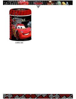 Mealheiro Cars Disney