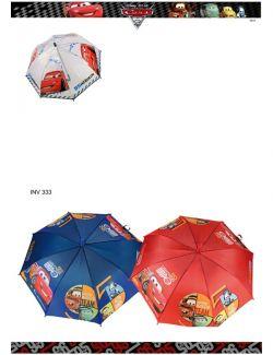 Diversos chapeus de chuva cars disney