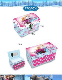 caixas de joias Frozen Disney