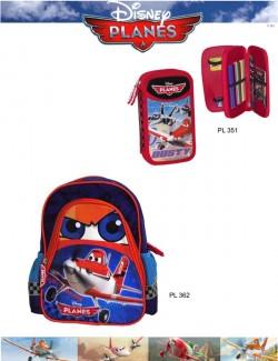 mochila e estojo Cars Disney