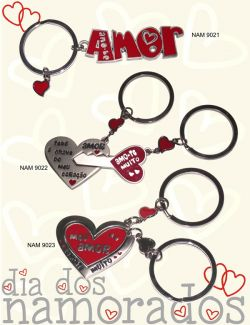 Porta-chaves do amor